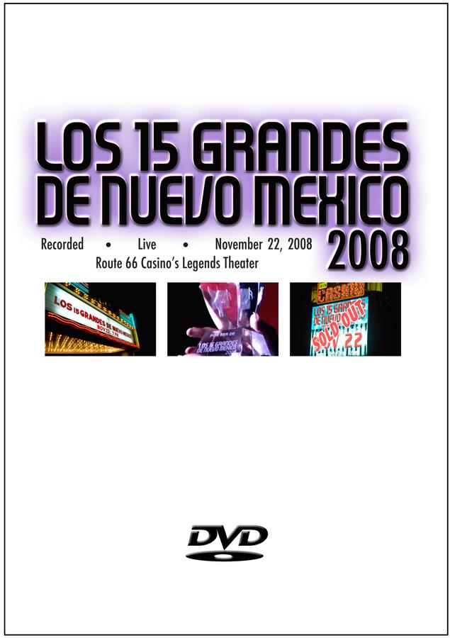 15 Grandes 2008 DVD