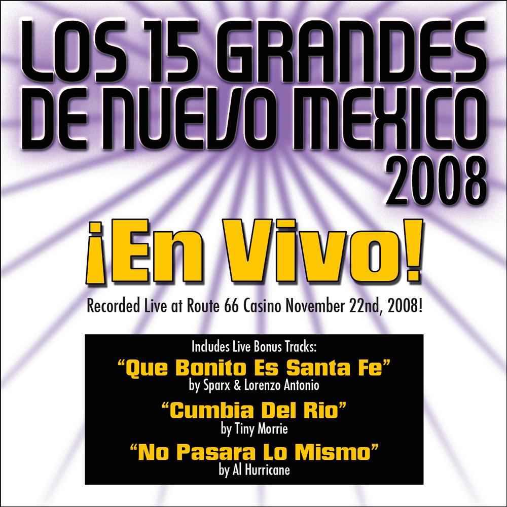 15 Grandes 2008 En Vivo CD