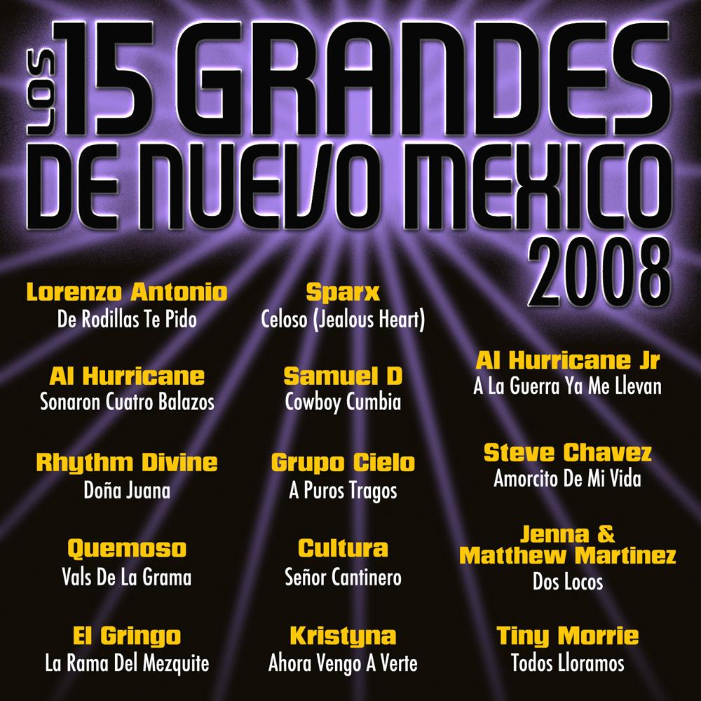 15 Grandes 2008 CD