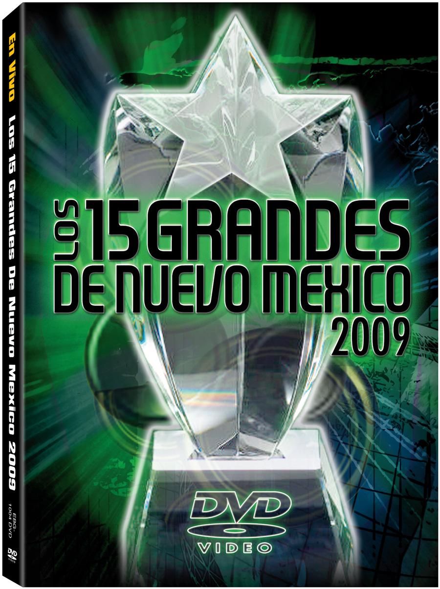 15 Grandes 2009 DVD
