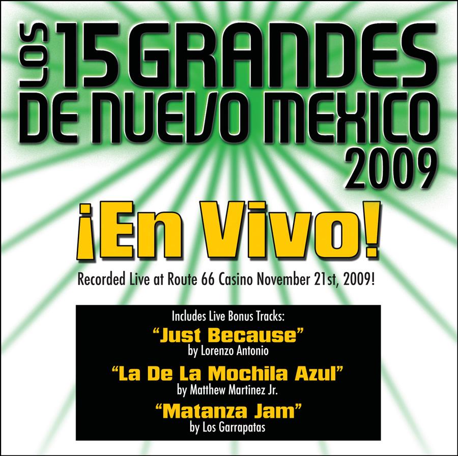15 Grandes 2009 En Vivo CD