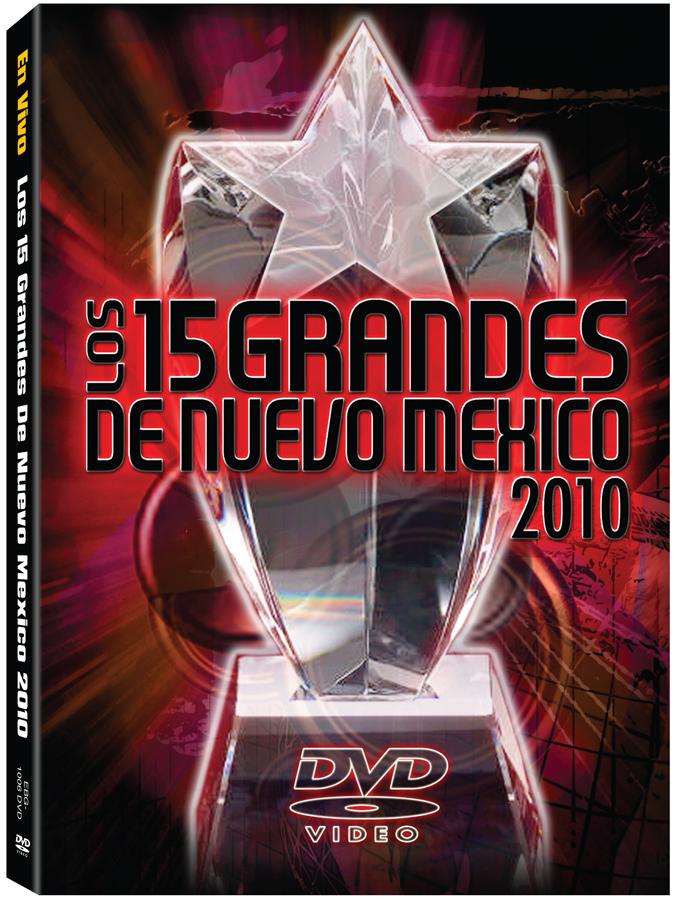 15 Grandes 2010 DVD