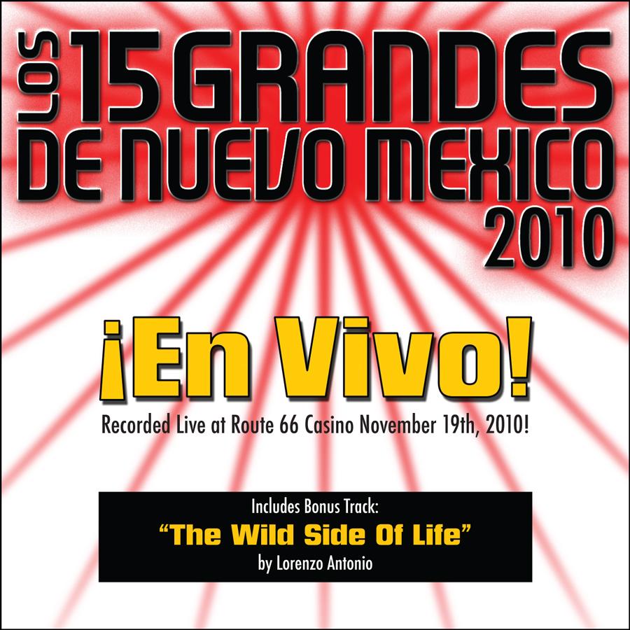 15 Grandes 2010 En Vivo CD