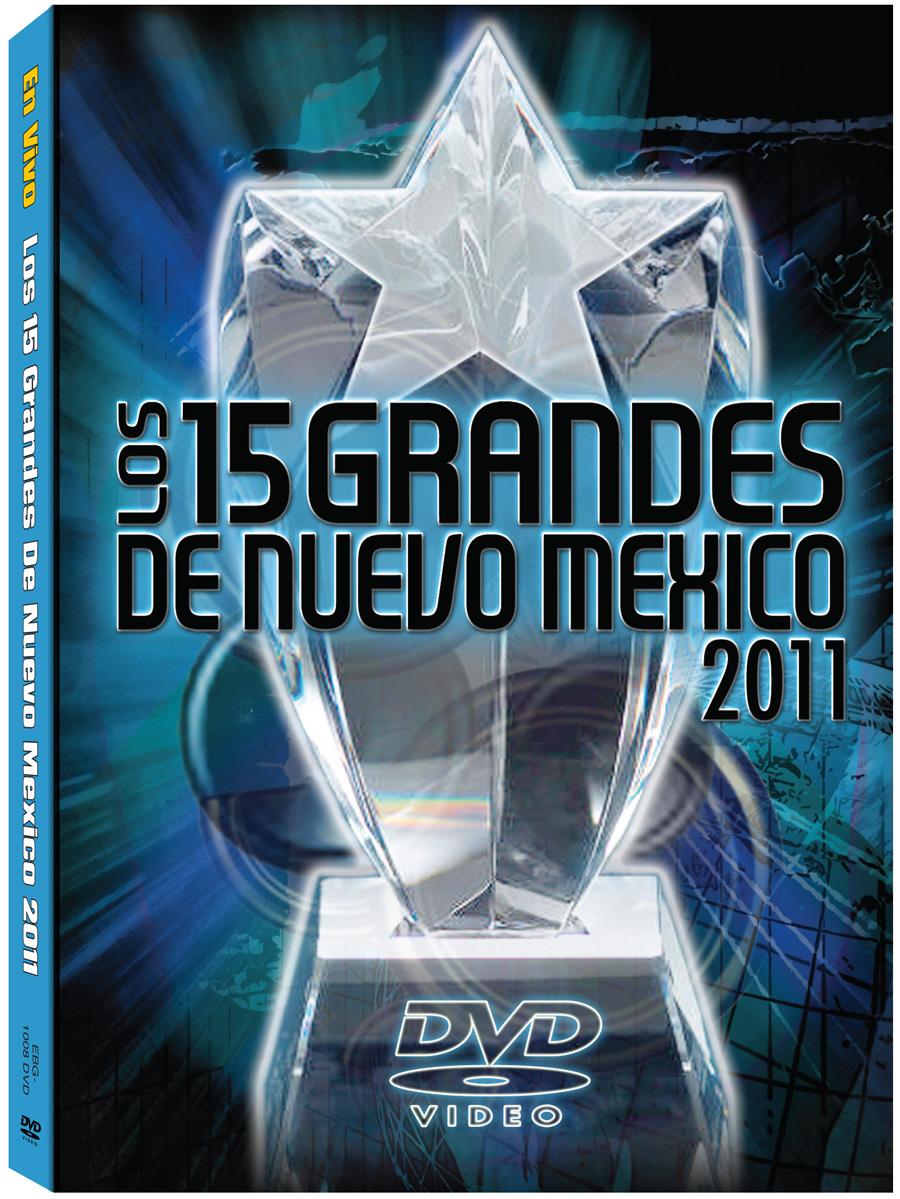 15 Grandes 2011 DVD