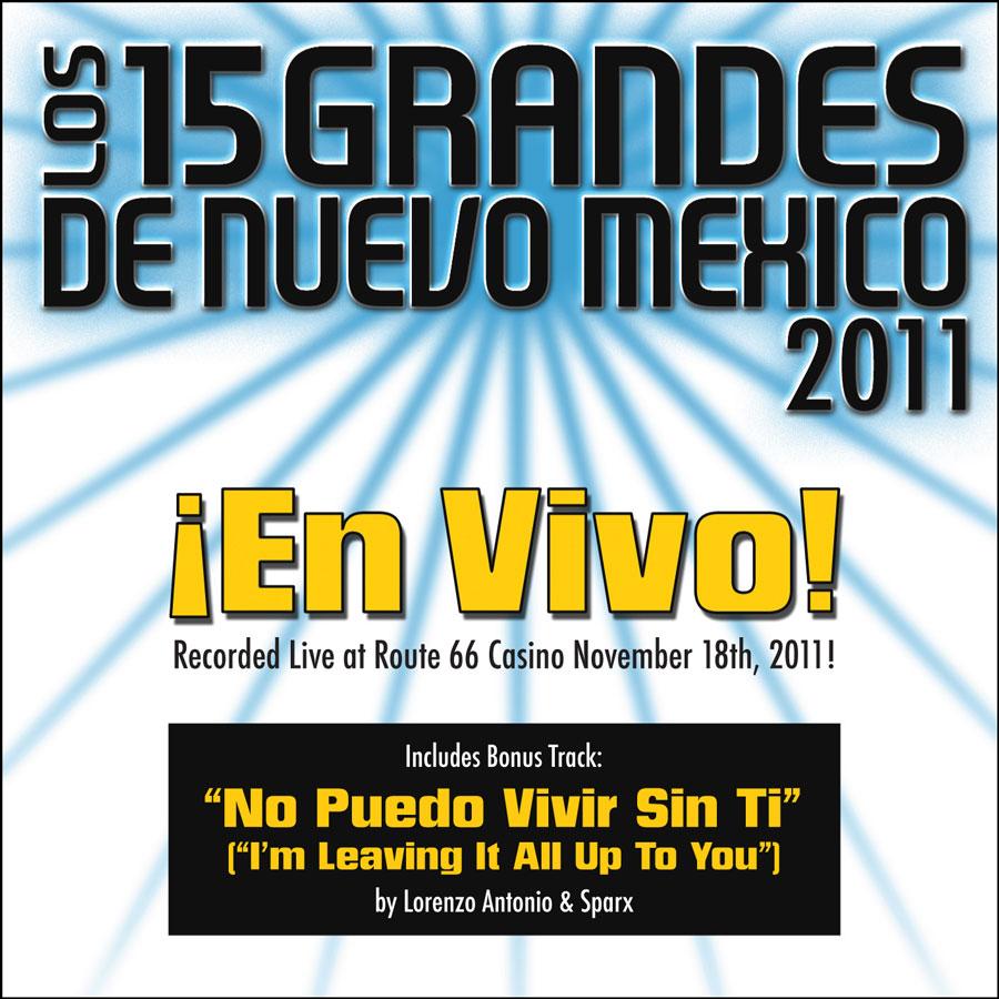 15 Grandes 2011 En Vivo CD