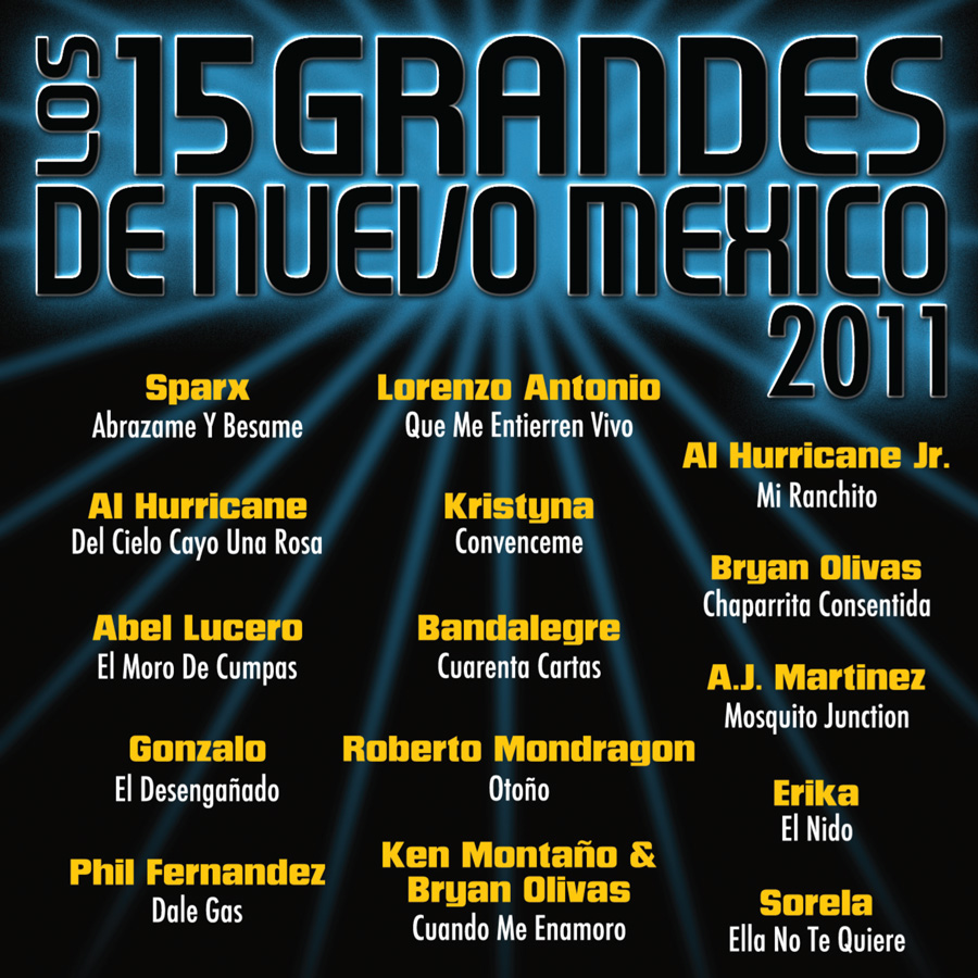 15 Grandes 2011 CD