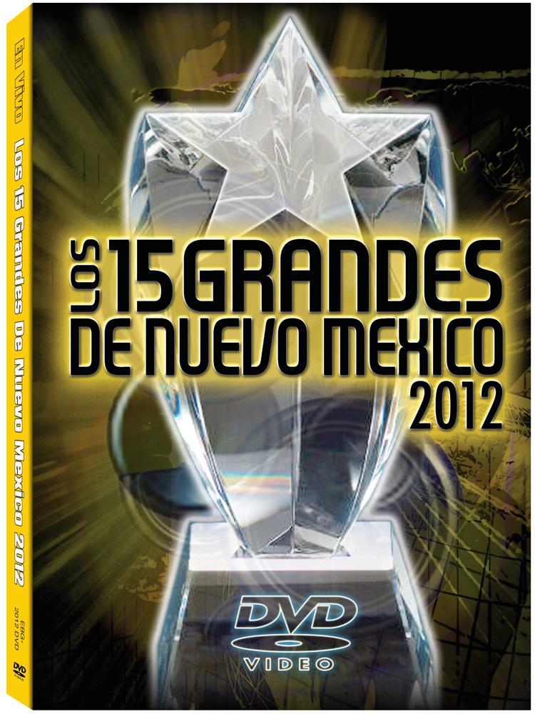 15 Grandes 2012 DVD