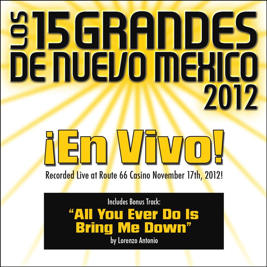 15 Grandes 2012 En Vivo CD