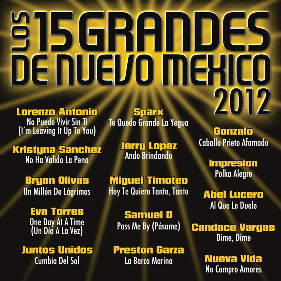 15 Grandes 2012 CD