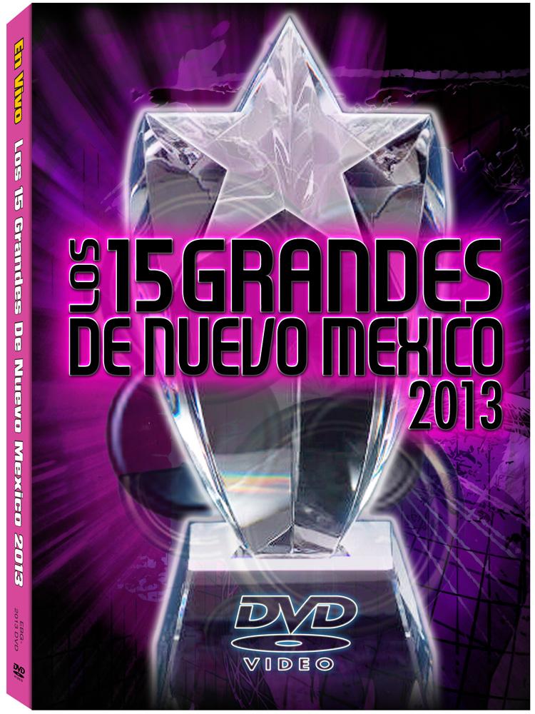 15 Grandes 2013 DVD