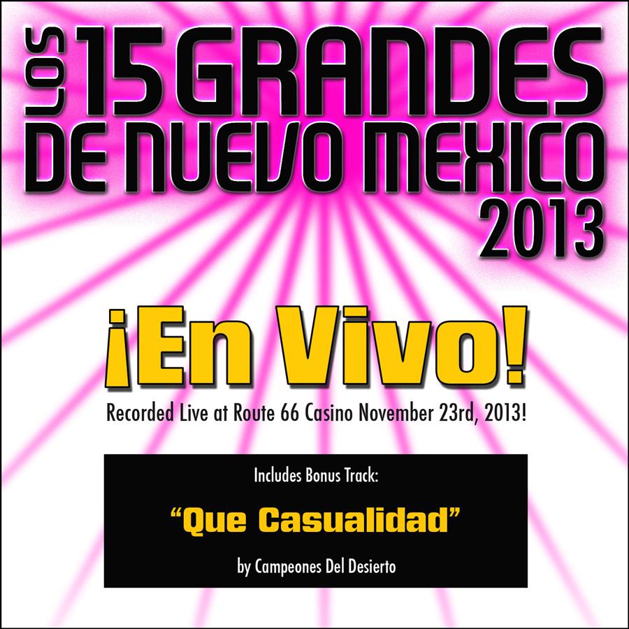 15 Grandes 2013 En Vivo CD