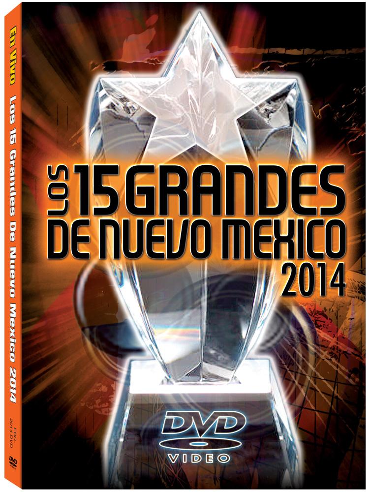 15 Grandes 2014 DVD