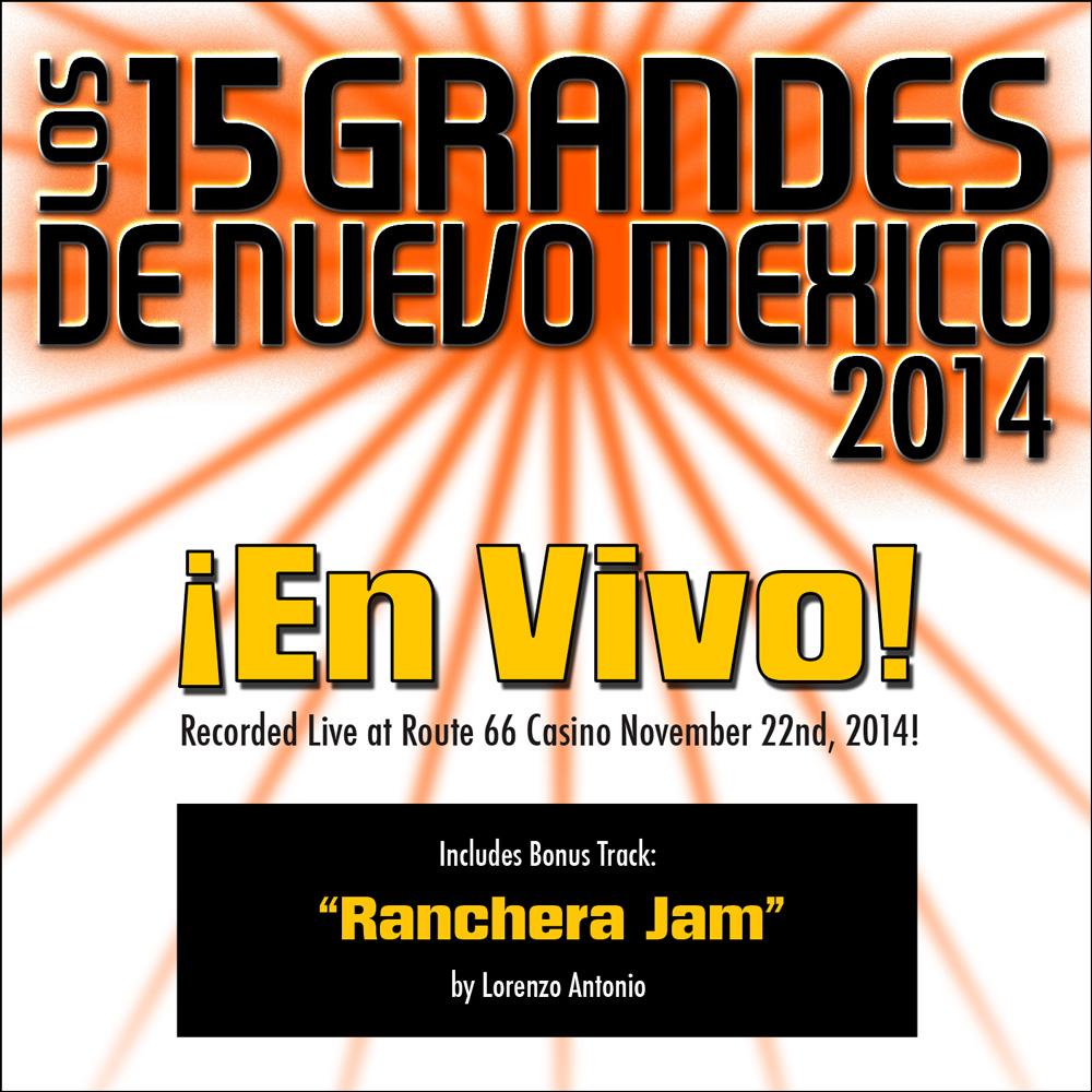 15 Grandes 2014 En Vivo CD