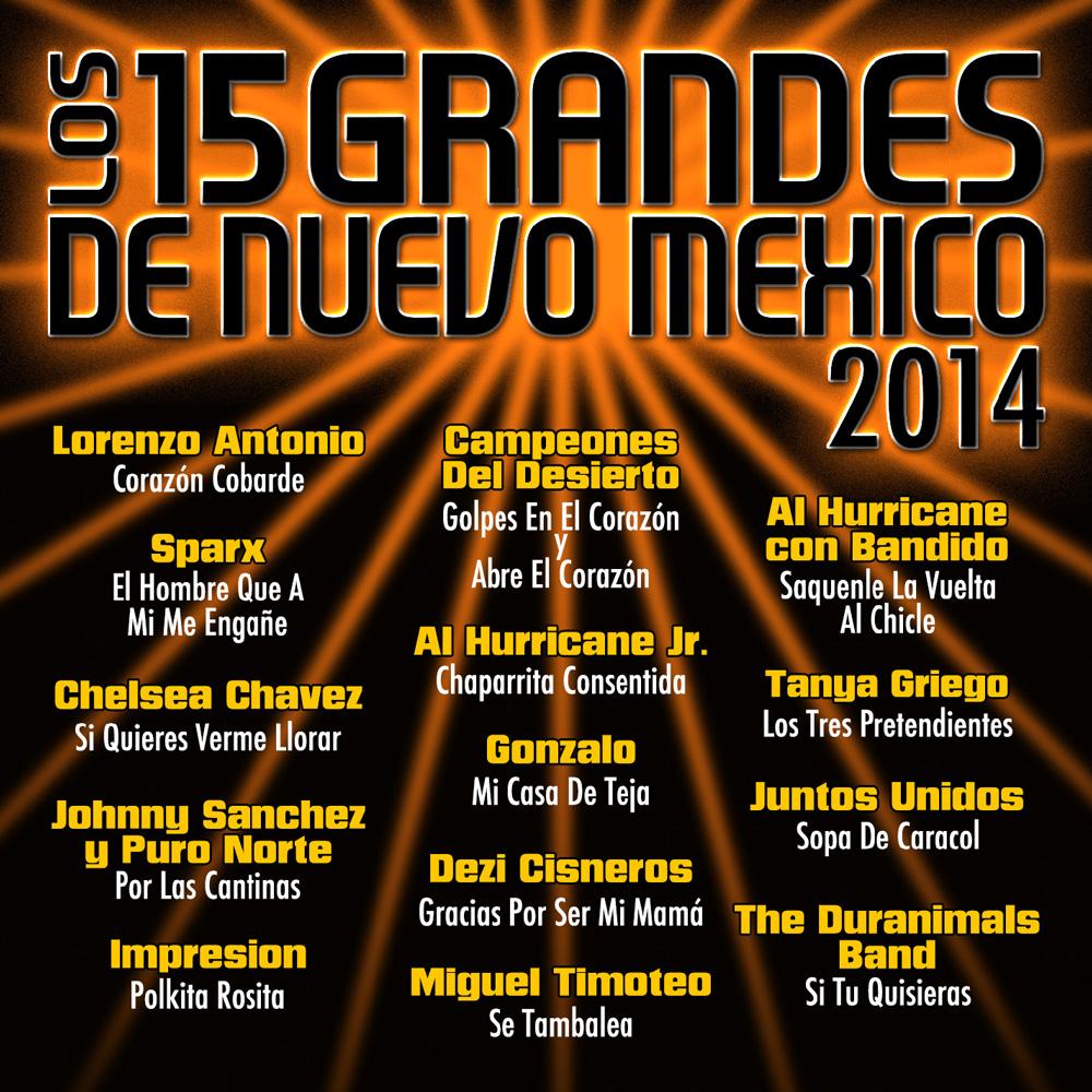 15 Grandes 2014 CD