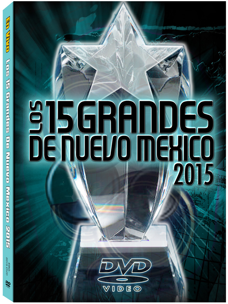 15 Grandes 2015 DVD