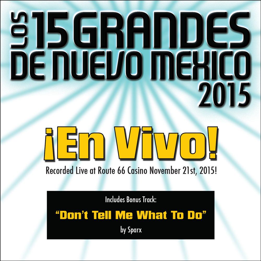15 Grandes 2015 En Vivo CD