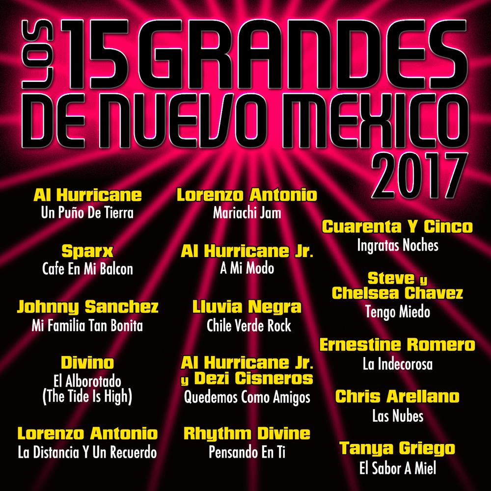 15 Grandes 2017 CD