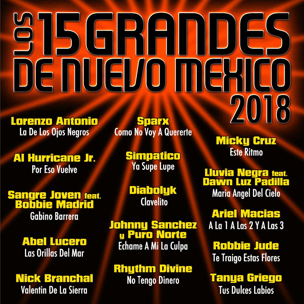 15 Grandes 2018 CD